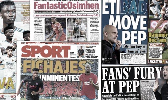 """El nuevo Real Madrid que ya ilusiona, 2 """"fichajes"""" para el FC Barcelona"""
