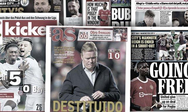 Koeman ya es historia, Osasuna frena al Real Madrid, Valencia y Juve se estancan