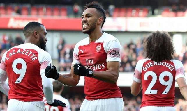 El Arsenal no descarta renovar a Aubameyang