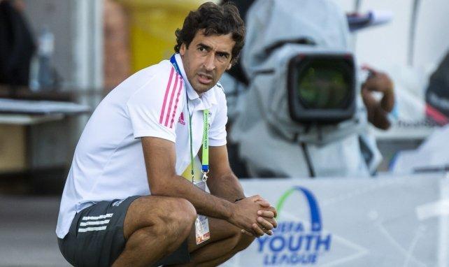 Raúl conquistó recientemente la UEFA Youth League con el Real Madrid