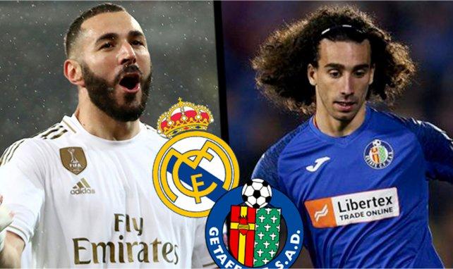 Confirmados los onces del Real Madrid-Getafe