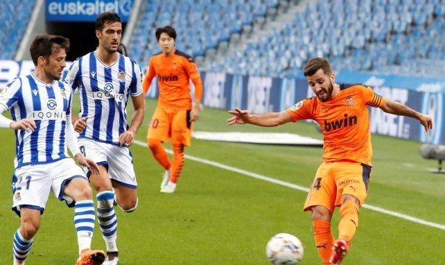 Liga | El Valencia toma oxígeno a costa de la Real Sociedad