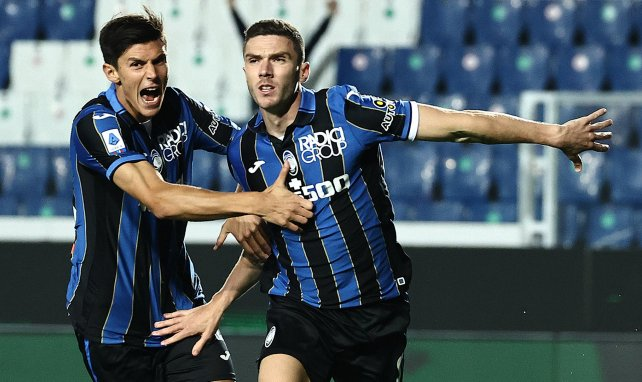 Robin Gosens celebrando un gol