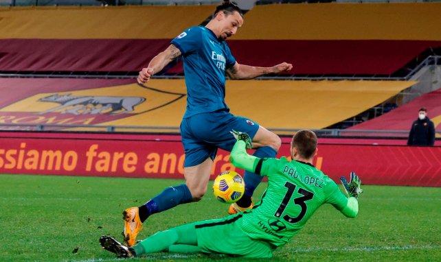 Serie A | El AC Milan derrota a la AS Roma en el Olímpico