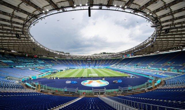 Le Stadio Olimpico de Roma listo para acoger el inicio de la Eurocopa