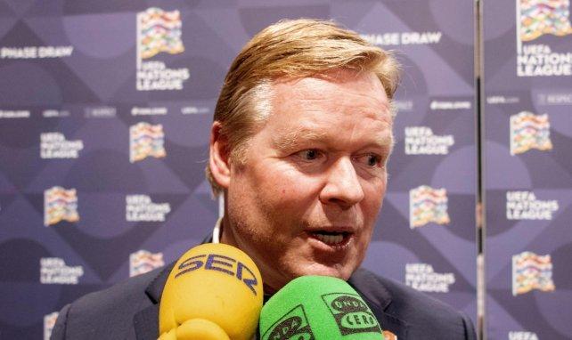 Ronald Koeman, preparado para el reto de la Juventus de Turín