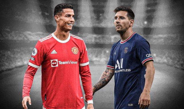 Cristiano Ronaldo y Lionel Messi