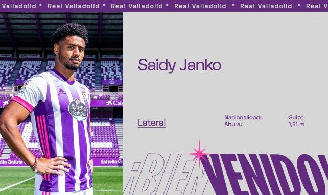 Saidy Janko, nuevo jugador del Real Valladolid