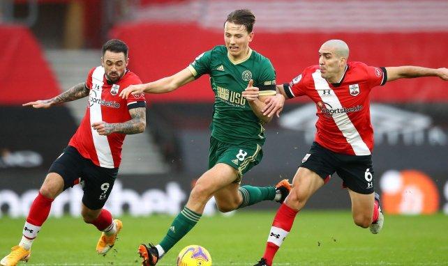 La férrea postura del Sheffield United con Sander Berge
