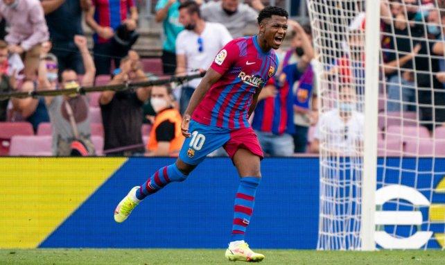 ¡El FC Barcelona blinda a Ansu Fati hasta 2027!