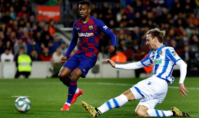 Nélson Semedo se despide del FC Barcelona