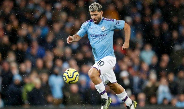 Pep Guardiola alude al futuro de Sergio Agüero