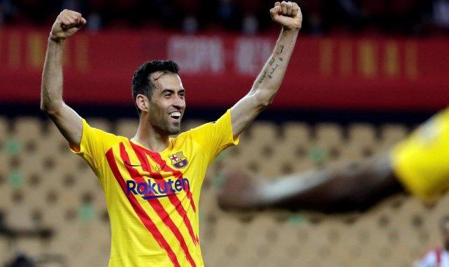 El parte médico de Sergio Busquets en el FC Barcelona