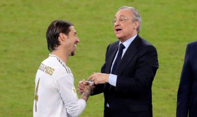 Florentino Pérez y Sergio Ramos liman asperezas