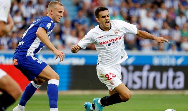 Sergio Reguilón no descarta seguir en el Sevilla