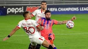 Liga de Campeones | Olivier Giroud brilla en la goleada del Chelsea en Sevilla