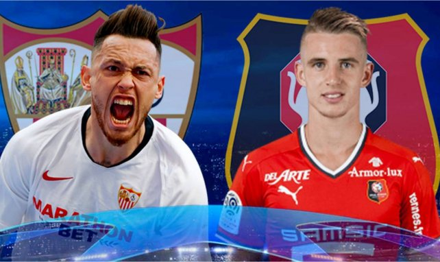 Ya tenemos onces del Sevilla - Rennes
