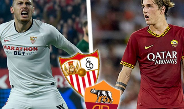 ¡Ya hay onces del Sevilla - AS Roma!