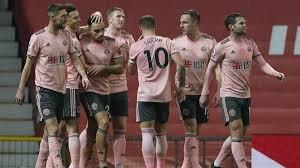 Los jugadores del Sheffield United festejan una diana