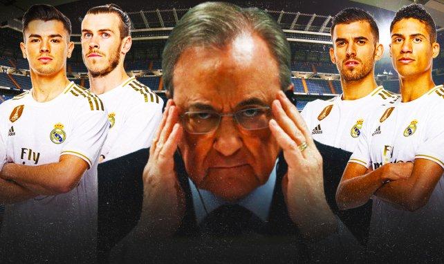 El Real Madrid puede prescindir de varias piezas