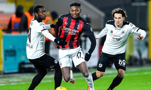 El AC Milan sitúa a Rafael Leao en el escaparate