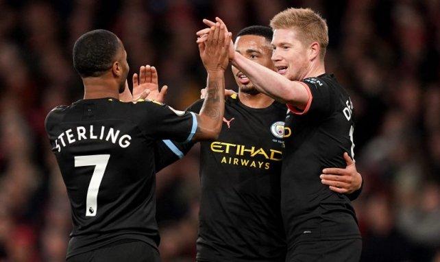 Sterling y De Bruyne, esenciales para el Manchester City