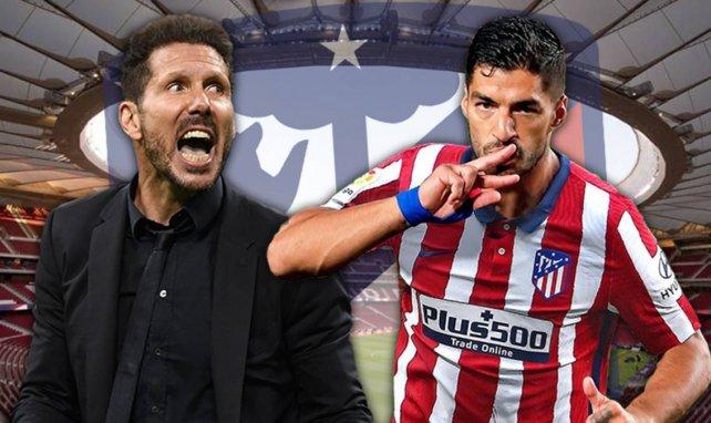 Luis Suárez entra en la convocatoria del Atlético de Madrid