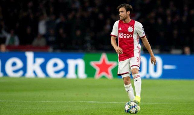 Nicolás Tagliafico, otra opción para el lateral zurdo del Manchester United