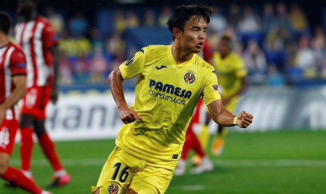 La Europa League como bálsamo para Take Kubo en el Villarreal