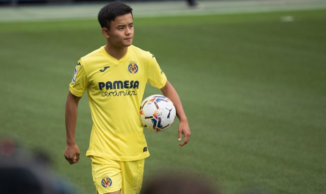 El Real Madrid confía en la progresión de Kubo en Villarreal