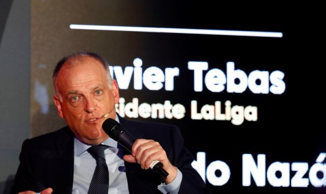 Javier Tebas atiza a la Superliga Europea