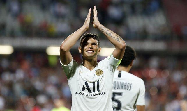 Thiago Silva acaba contrato este verano