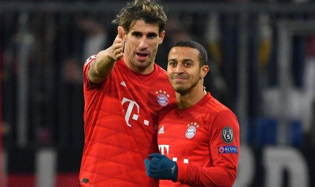 La posición del Bayern Múnich con Javi Martínez