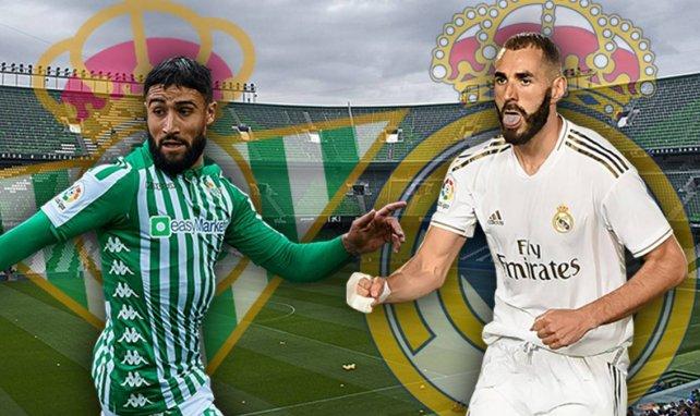 Ya hay onces de Real Betis y Real Madrid