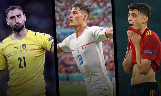 El once ideal de la Euro 2020