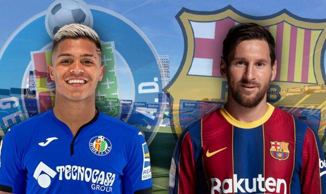 ¡Ya hay onces del Getafe - FC Barcelona!