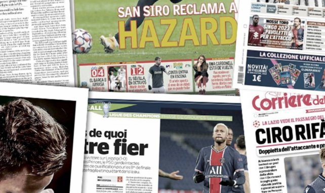 El Real Madrid sigue esperando al mejor Hazard, la ilusionante victoria europea del FC Barcelona, Morata le evita un disgusto a Pirlo