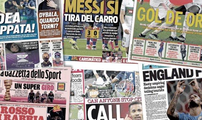 Rafa Benítez alude a un regreso al Valencia, el calvario de Paulo Dybala