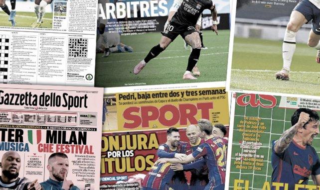 Real Madrid y FC Barcelona se reenganchan a los títulos, nueva decepción en Valencia