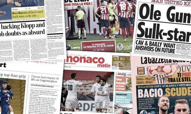 Las quejas arbitrales empañan la Liga, el Liverpool no pierde su confianza en Klopp, el Inter sueña con el Scudetto