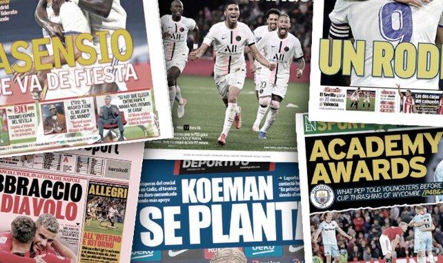 El imparable avance del Real Madrid, el FC Barcelona se la juega, Achraf Hakimi toma las riendas del PSG