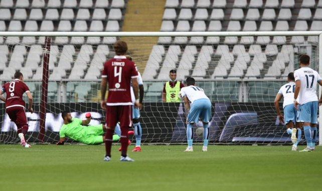 Andrea Belotti ha visto portería con el Torino