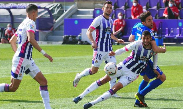 Liga | El Real Valladolid doblega por la mínima al Getafe