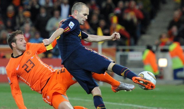 La reacción de Rafael Van der Vaart a la clasificación de España