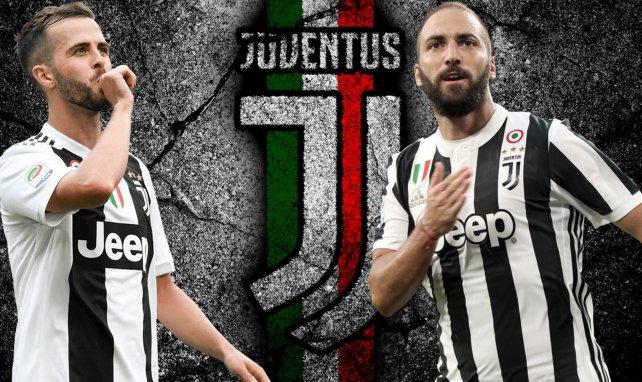El interesante 11 con los jugadores en venta de la Juventus