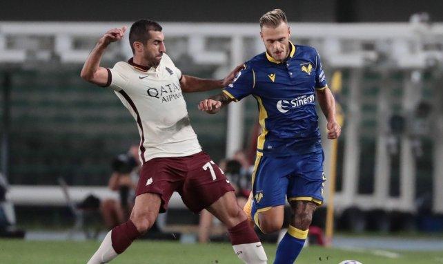 Serie A | Combate nulo entre Hellas Verona y AS Roma