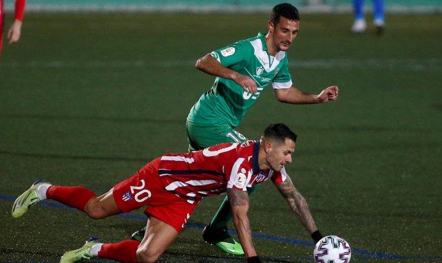 La escasa incidencia de Vitolo en el Atlético de Madrid