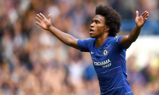 El Atlético de Madrid negocia por Willian