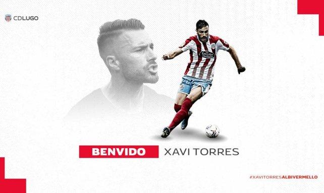 Xavi Torres aterriza en el Lugo