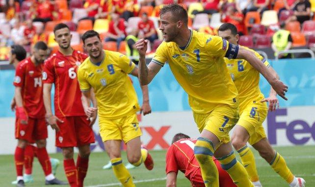 Eurocopa | Andriy Yarmolenko lanza a Ucrania y sentencia a Macedonia del Norte